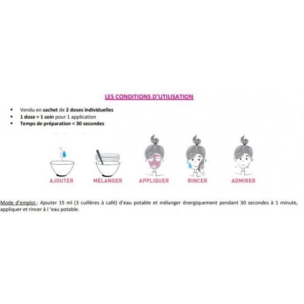SECRETS DES FÉES Masque anti-âge restructurant BIO 2 doses de 4,5g