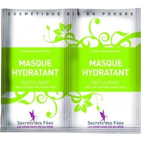 SECRETS DES FÉES Organic Plumping Moisturizing Mask 2 dose of 4.5g