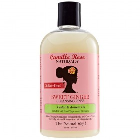 CAMILLE ROSE NATURALS Shampooing sans sulfates SWEET GINGER 355ml