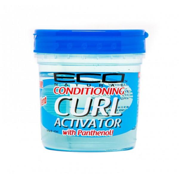 ECO STYLER Gel activateur de boucles ALOE + Panthénol 473ml