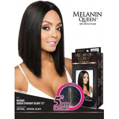 "MANE CONCEPT perruque QUEEN STRAIGHT BLUNT 12"" (Lace Front)"