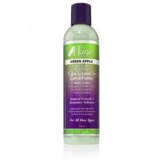 Après-shampooing sans rinçage GREEN APPLE pour enfants 236ml (Leave In)