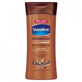 VASELINE Lotion hydratante pour peau sèche COCOA RADIANT 200lk
