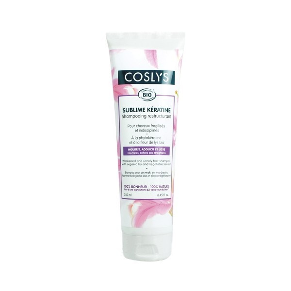 COSLY Shampooing restructurant à la kératine BIO 250ml