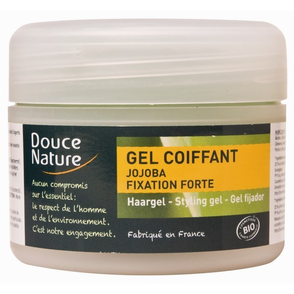 DOUCE NATURE Gel coiffant fixation forte BIO 100ml