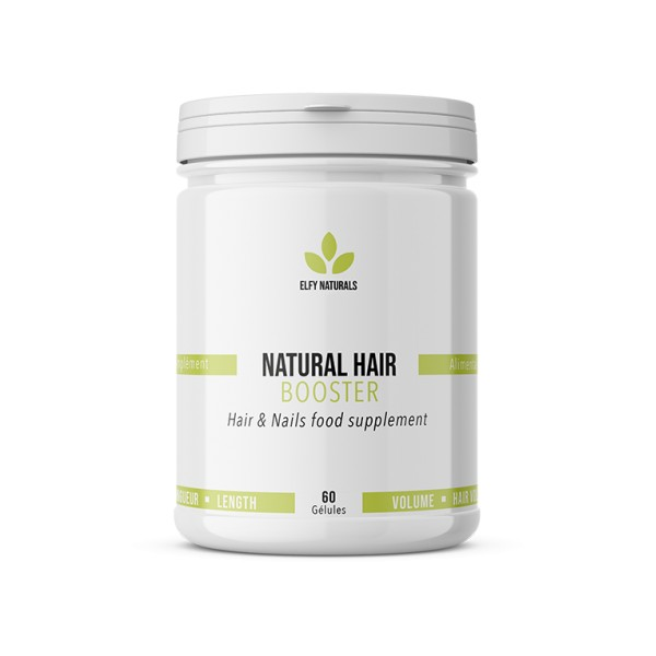 ELFY NATURALS Complément alimentaire NATURAL HAIR BOOSTER 60 gélules