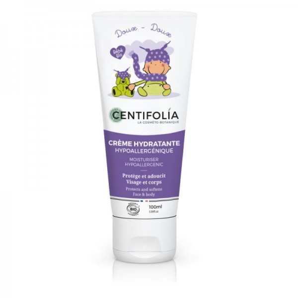 CENTIFOLIA Crème hydratante hypoallergénique pour bébé BIO 100ml