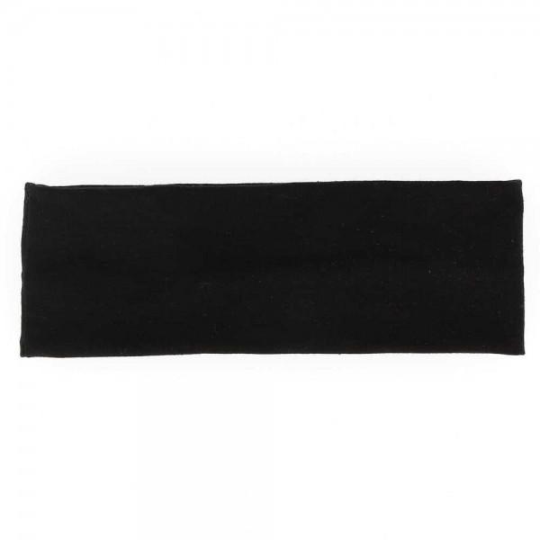 BE YOUR SELF Bandeau en tissu noir