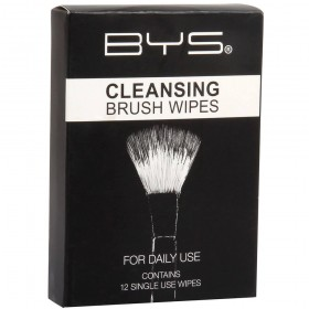 BE YOUR SELF Lingettes nettoyantes pour pinceaux x12 (Cleansing Brush Wipes)