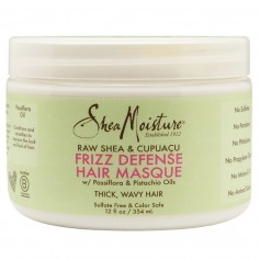 SHEA MOISTURE Masque capillaire FRIZZ DEFENSE 354ml