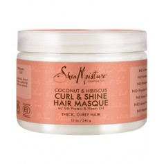 Masque pour boucles Coco & Hibiscus CURL & SHINE 340g
