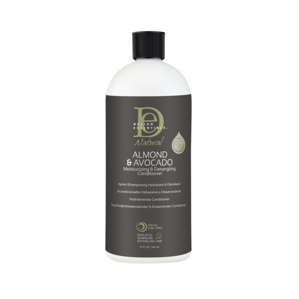 DESIGN ESSENTIALS Après-shampooing démèlant ALMOND & AVOCADO 946ml