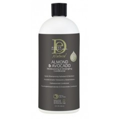 DESIGN ESSENTIALS Après-shampooing démèlant ALMOND & AVOCADO 946ml