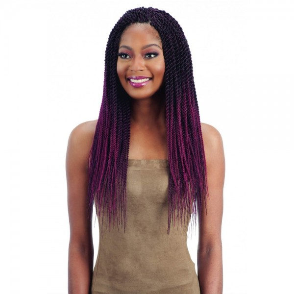 "FREETRESS natte SENEGALESE TWIST 20"" (Pre-Feathered)"