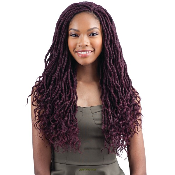 "FREETRESS natte GODDESS LOC 18"" (Loop)"