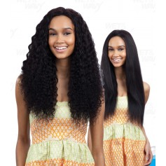 MILKYWAY NAKED tissage Wet & Wavy DEEP WAVE 7pcs 18/20/22""