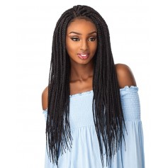 SENSAS perruque nattée BOX BRAID LARGE (Swiss Lace)