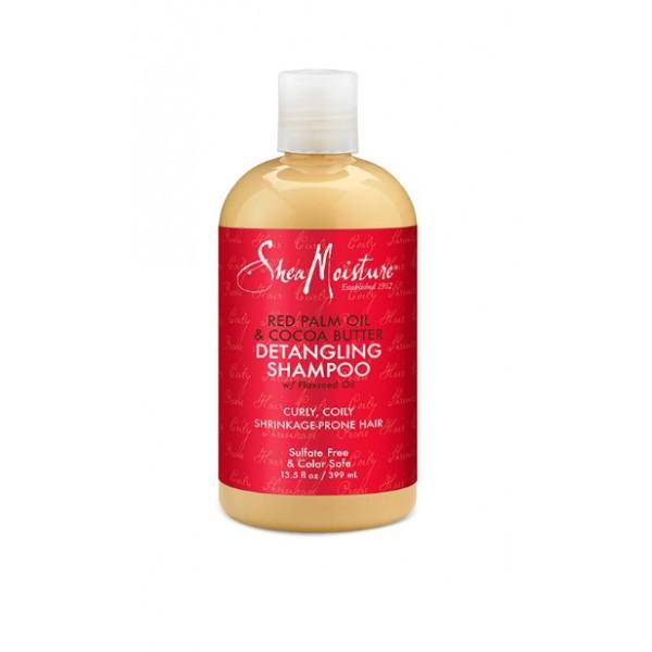 SHEA MOISTURE Shampooing démêlant boucles (Red Palm & Cocoa) 399ml