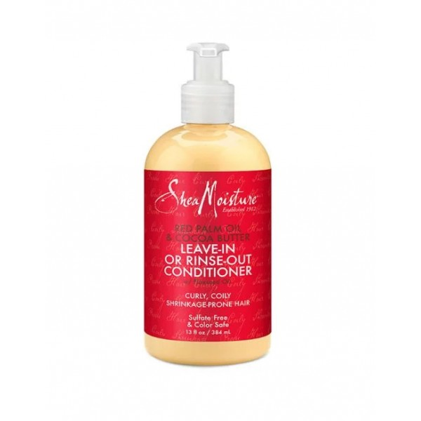 SHEA MOISTURE Après-shampooing (Red Palm Oil & Cocoa Butter) 384ml