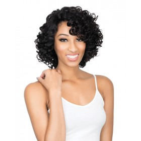 URBAN BEAUTY perruque brésilienne NATURAL FUNMI ROD CURL (Lace Front)
