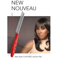 Red comb special for wigs & extensions