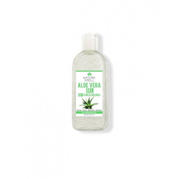 NATURE SPELL Gel Aloe Vera Pur 99% 200ml