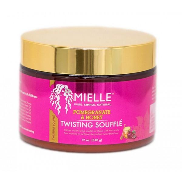 MIELLE Crème définissante pour boucles & twists Pom & Honey 340g (Twisting soufflé)