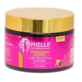 MIELLE Gelée coiffante pour boucles Grenade & Miel 340g (Curl sculpting Custard)