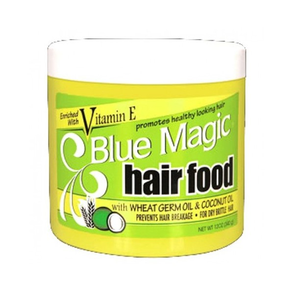 BLUE MAGIC Pommade nourrissante COCO & GERME DE BLE 340g (Hair Food)