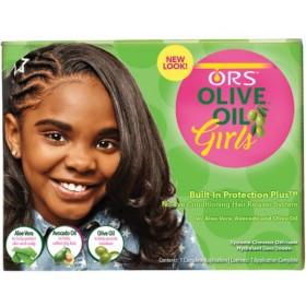 Organic Root Stimulator Kit Défrisant Olive Oil Girls
