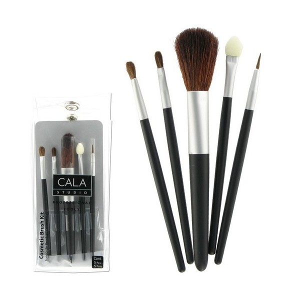 CAL Kit pinceaux de maquillage X5