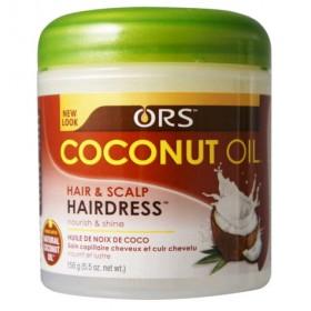 Organic Root Stimulator Crème capillaire huile de coco 156g (Coconut Oil)