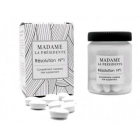 MADAME LA PRESIDENTE Hair supplement RESOLUTION N°1 (1 month cure)