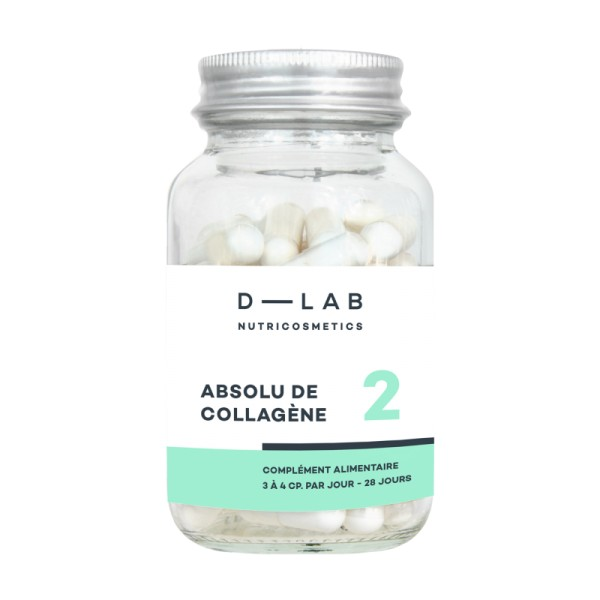 D-LAB NUTRICOSMETICS Complément alimentaire ABSOLU DE COLLAGENE (1mois)