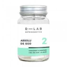 D-LAB NUTRICOSMECTICS Complément alimentaire ABSOLU DE SOD (Cure 1 mois)