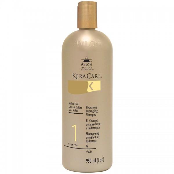 KERACARE Shampooing hydratant démêlant sans sulfates 950ml