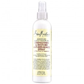 SHEA MOISTURE Spray anti-casse RICIN Black Castor Oil 237ml (Strengthen & Restore Anti-Breakage)