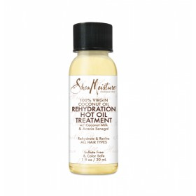 SHEA MOISTURE Traitement HUILE 100% VIRGIN COCONUT 30ml (Rehydration Hot Oil)