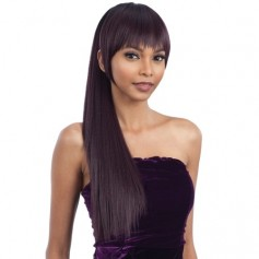 FREETRESS postiche + frange YAKY STRAIGHT PONYTAIL (CHINA BANG)