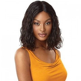 OUTRE perruque CURLY BLUNT CUT BOB 14'' (Deep Lace Part)