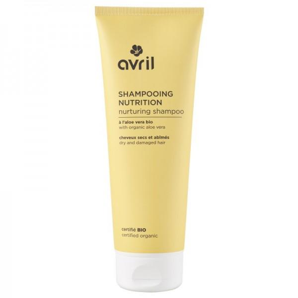 AVRIL Shampooing Nutrition cheveux secs ALOE VERA BIO 250ml