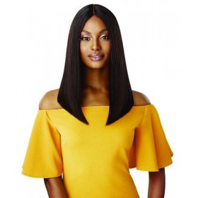 OTHER STRAIGHT BLUNT CUT BOB wig 16'' (Deep Lace Part)