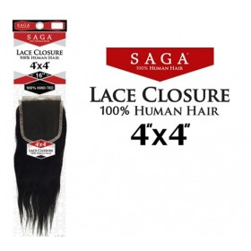 SAGA closure 4x4 YAKY 16'' (Lace)