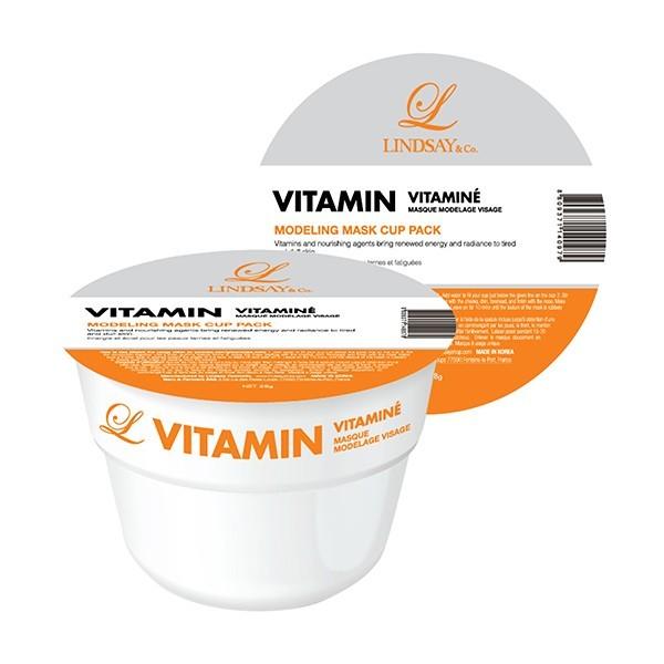 LINDSAY Masque modelage visage Vitaminé 28g