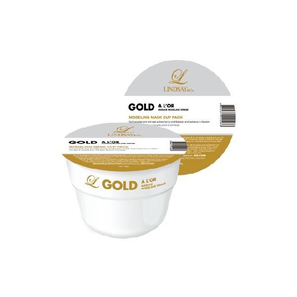 LINDSAY Masque de modelage Visage à l'Or 28g