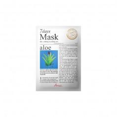 Masque-tissu à l'ALOÉ VÉRA SEVEN DAYS 20g