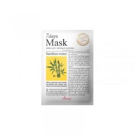 ARIUL Masque-tissu à l'EAU DE BAMBOU SEVEN DAYS 20g