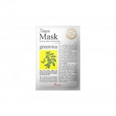 Masque-tissu au THÉ VERT SEVEN DAYS 20g
