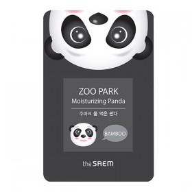 Moisturizing Face Mask PRINTED PANDA SAEM TEA MASK