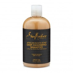 "Shampooing African Black Soap ""Deep Cleasing"" 384ml"